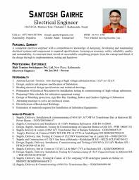 Certified Electrical Engineer Sample Resume Electrical Engineering Resume Sample Sample Of Resume For 8
