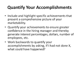 Interesting Quantify Resume 23 For Your Resume Cover Letter With Quantify  Resume