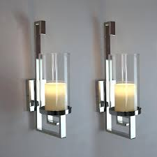 silver wall candle holders awesome decorative wall sconces candle holder designs intended for glass candles idea silver wall candle