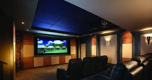proper lighting. Home Theater With Proper Lights And Leather Black Seats : Lighting Fixtures N