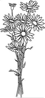 Small Picture Daisy Flower Arrangement Coloring Page Daisy Flower Arrangement