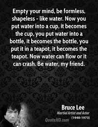 Bruce Lee Water Quote Beauteous Bruce Lee Quotes QuoteHD