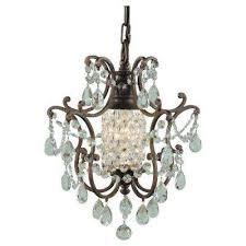 feiss maison de ville 11 in w 1 light british bronze mini chandelier f1879 1brb the home depot