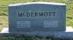 Blanche Lamont Miller McDermott (1896-1975) - Find A Grave Memorial