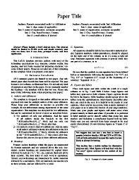aps ursi ieee international symposium on antennas and publish ready 2 column 2 page ap s paper