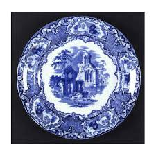 Blue And White China Pattern