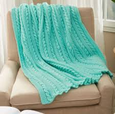 Free Knitting Patterns Blankets Throws Beginners