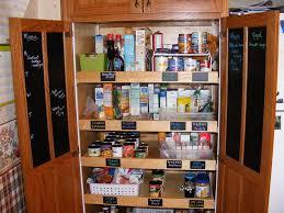 kitchen pantry cabinet with door