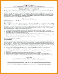 Hotel General Manager Resume Template Enchanting Hotel General Manager Resume Template Best Resume Examples