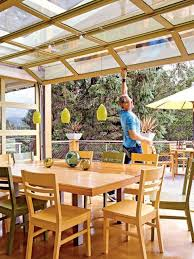 open up your dining room with a roll up garage door