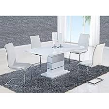 global furniture dining table white high gloss