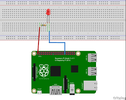 hello, blinky! windows iot Raspberry Pi 3 Wiring Diagram here is an example of what your breadboard might look like with the circuit assembled raspberry pi 3 led wiring diagram