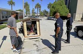 Small Picture Tiny houses for the homeless create backlash in San Pedro