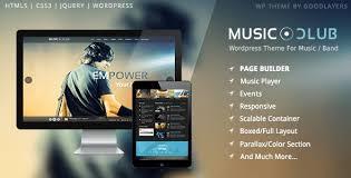 Music Club Music Band Club Party Wordpress Theme Wordpress Thema Zoeken
