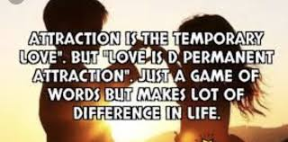 WHAT LOVE MEANS IN COMPARISON OF ATTRACTION TODAY SCIENCE Medium Inspiration Love Or Attraction
