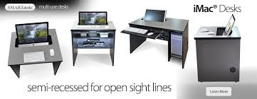 imac furniture. Imac Desks - Semi-recessed Monitor Placement For All-in-ones On Fixed Furniture C