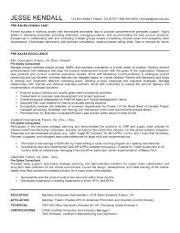 Management Consulting Resume Sample Free Download Management