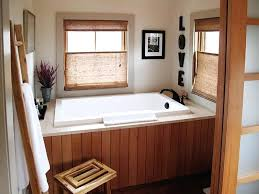 japanese soaking tub wood the calyx deep soaking tub shown inset with wooden panels and a