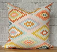 History of pillows Throw Pillow Kilim Pillows Bring Style And History To Your Room Exciting Kilim Pillows With Painted Furniture Decor And Interior Design Interior Decor Exciting Kilim Pillows With Painted Brick Wall And
