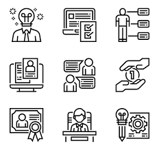 Resume Icons Wonderful 2421 24 Resume Icon Packs Vector Icon Packs SVG PSD PNG EPS Icon