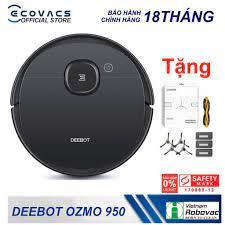 Mã ELMAL6 giảm 6% đơn 699k] Robot hút bụi - lau nhà thông minh Ecovacs  Deebot OZMO 950 ( Tặng hộp phụ kiện ) Ecovacs   Robot, Nhà thông minh, Phụ  kiện