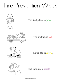 Fire Safety Worksheets For Preschoolers Free Worksheets Library ...