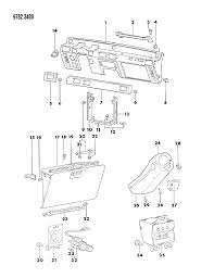 1989 dodge raider instrument panel mopar parts giant 1989 dodge raider instrument panel