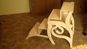 library steps chair you