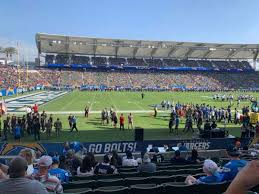 Chargers Stadium Seating Chart Dignity Health Sports Park Section 114 Home Of Los Angeles