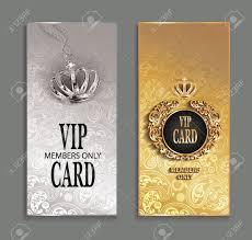 Elegant Invitation Cards Elegant Invitation Vip Cards With Floral Design