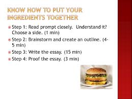 "the ""fast food"" essay ideas from ppt  10"