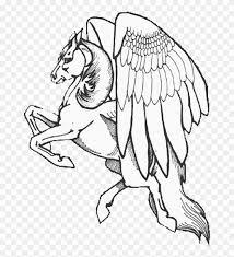 Pegasus Coloring Pages Free To Print Coloring4free Pegasus
