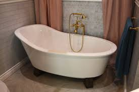 old fashioned bathtub in trendy style faucets a take on