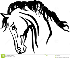 arabian horse head clipart. Brilliant Clipart Arabian Horse Head Throughout Horse Head Clipart I
