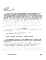 Contract Forms For Construction California Construction Contract Forms Uda Constructiondocs