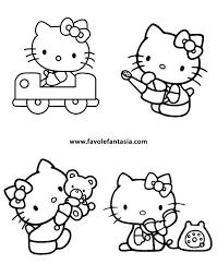 Hello Kitty Da Colorare Favole E Fantasia