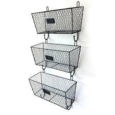 safavieh finley hanging 3 basket wall