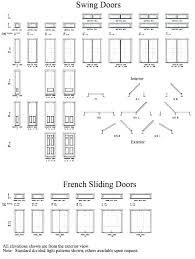 French Size Chart Entry Door Size Chart Empoweringlifestrategies Co