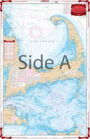 Cape Cod Chart Cape Cod And Harbors Navigation Chart 64