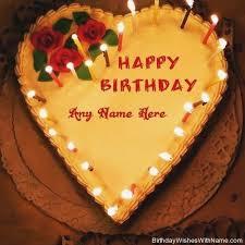 Birthday Cake Name Editing Cutebirthdaycakega