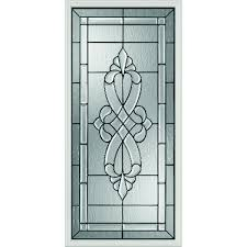 western reflections windsor door glass 24 x 50 frame kit