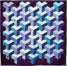 Tumbling Blocks Quilt Pattern | ... under cat tunnel sewing ... & Tumbling Blocks Quilt Pattern | ... under cat tunnel sewing pattern, betty  hauser Adamdwight.com