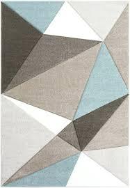 geometric rug runner uk black and white round blue