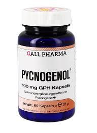 Pycnogenol 100 Mg Gph Kapseln Hecht Pharma Gmbh