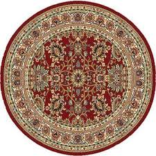 royalty red 8 ft x 8 ft round indoor area rug royalty red 8 ft