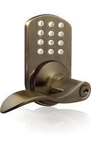 keypad front door lockMiLocks TKL02 Keyless Entry Lever Handle Door Lock with