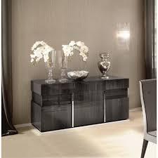 italian high gloss furniture. Carlos Contemporary Italian Dining And Lounge Furniture   High Gloss Living Room Grey Koto Montecarlo 3 Door Sideboard I