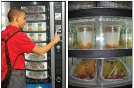 School Vending Machine Extraordinary Foodista Celebrity Chefs Help Unveil Healthy School Vending Machines