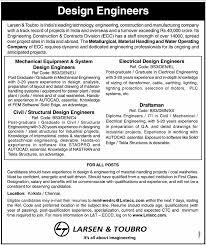 Lighting Design Engineer Job Description Mechanical Equipment System Design Engineers Job In