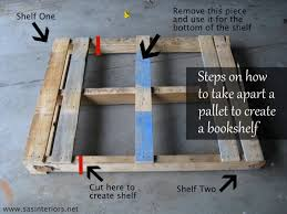 Shelves Made From Pallets How To Make A Pallet Shelf Diy Shelf Home Stories A To Z